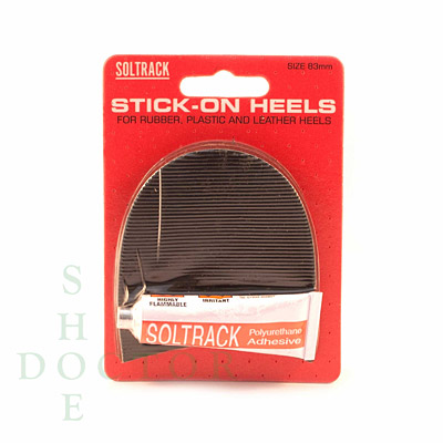 Mens Stick on Heels Large