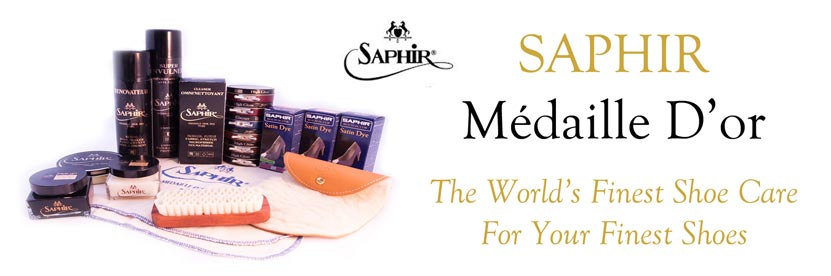 Saphir - The World's Finest Shoe Care For Your Finest Shoes at the Shoe Doctor