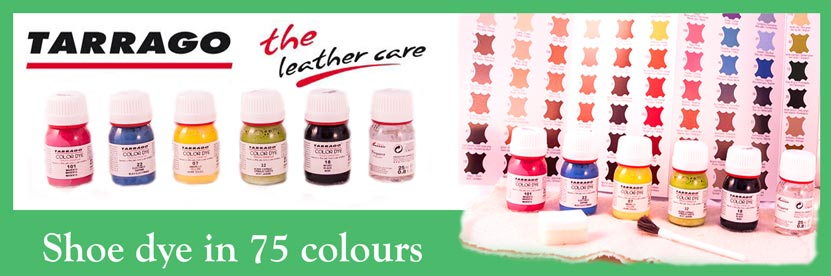 Tarrago - Shoe Dye 75 colours at the Shoe Doctor